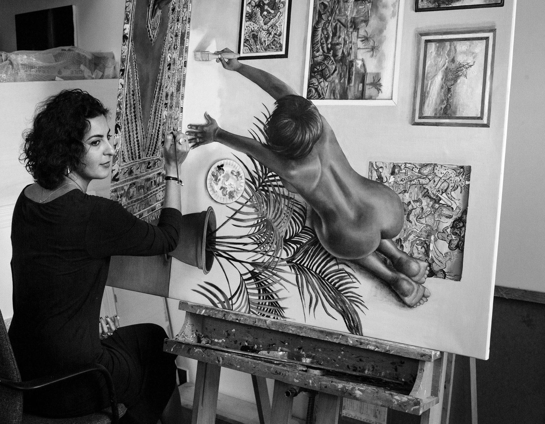 Nazanin Pouyandeh ©Kaveh Rostamkhani